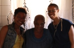 Ricks and me with Tumi's Grandmother